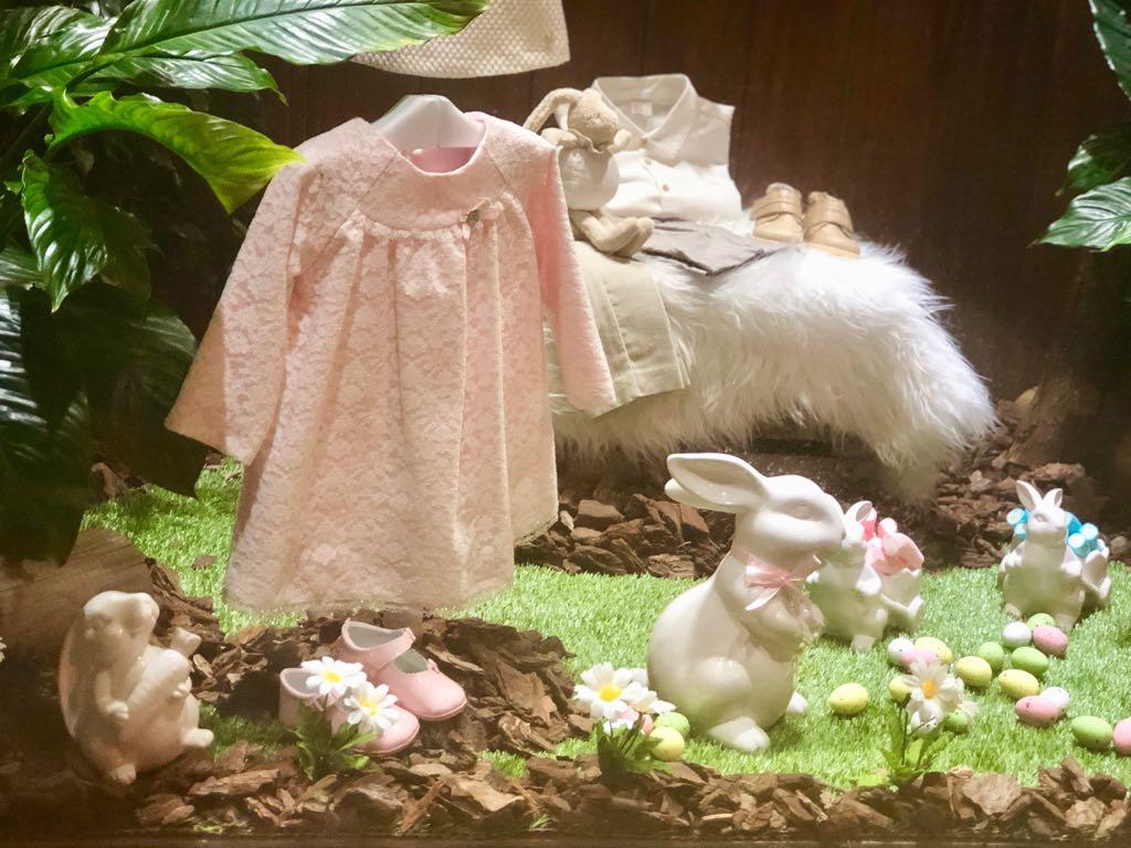 La moda infantil estas fiestas de Pascua